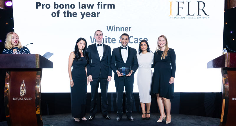 Pro bono Law Firm of the year