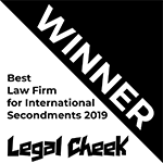 Legal Cheek Awards Winner