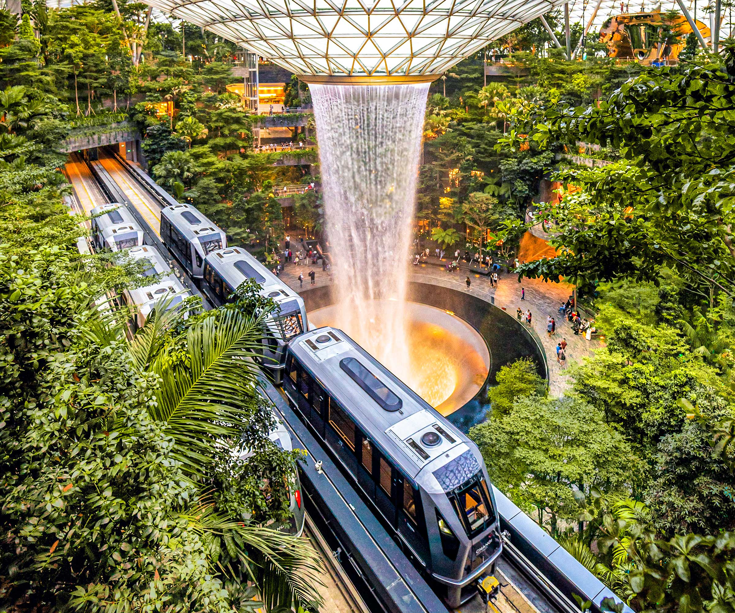 Jewel Changi Airport services Singapore. ©Jordi Sark
