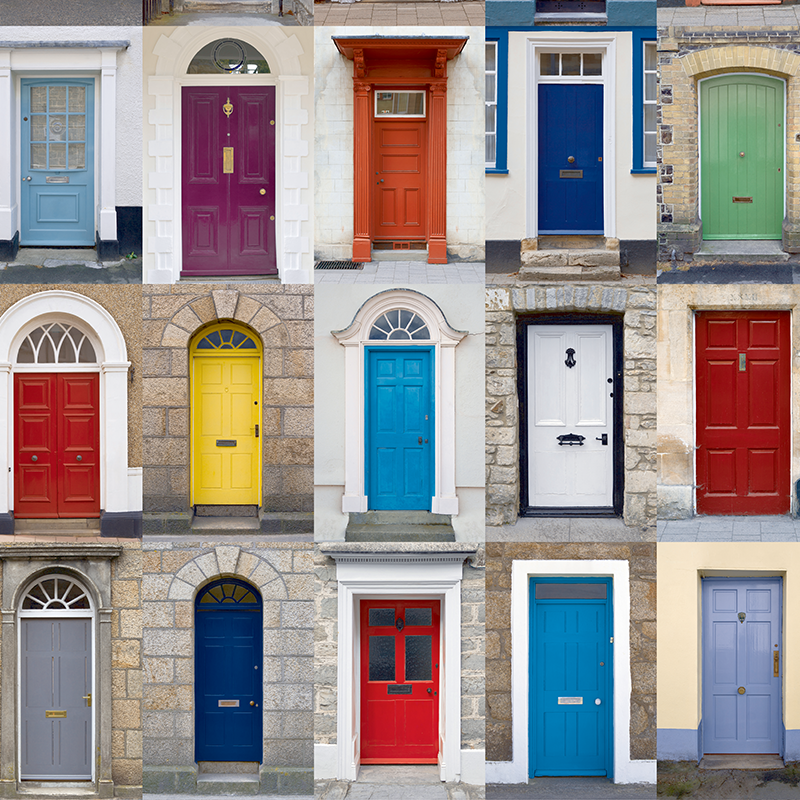different kinds of doors