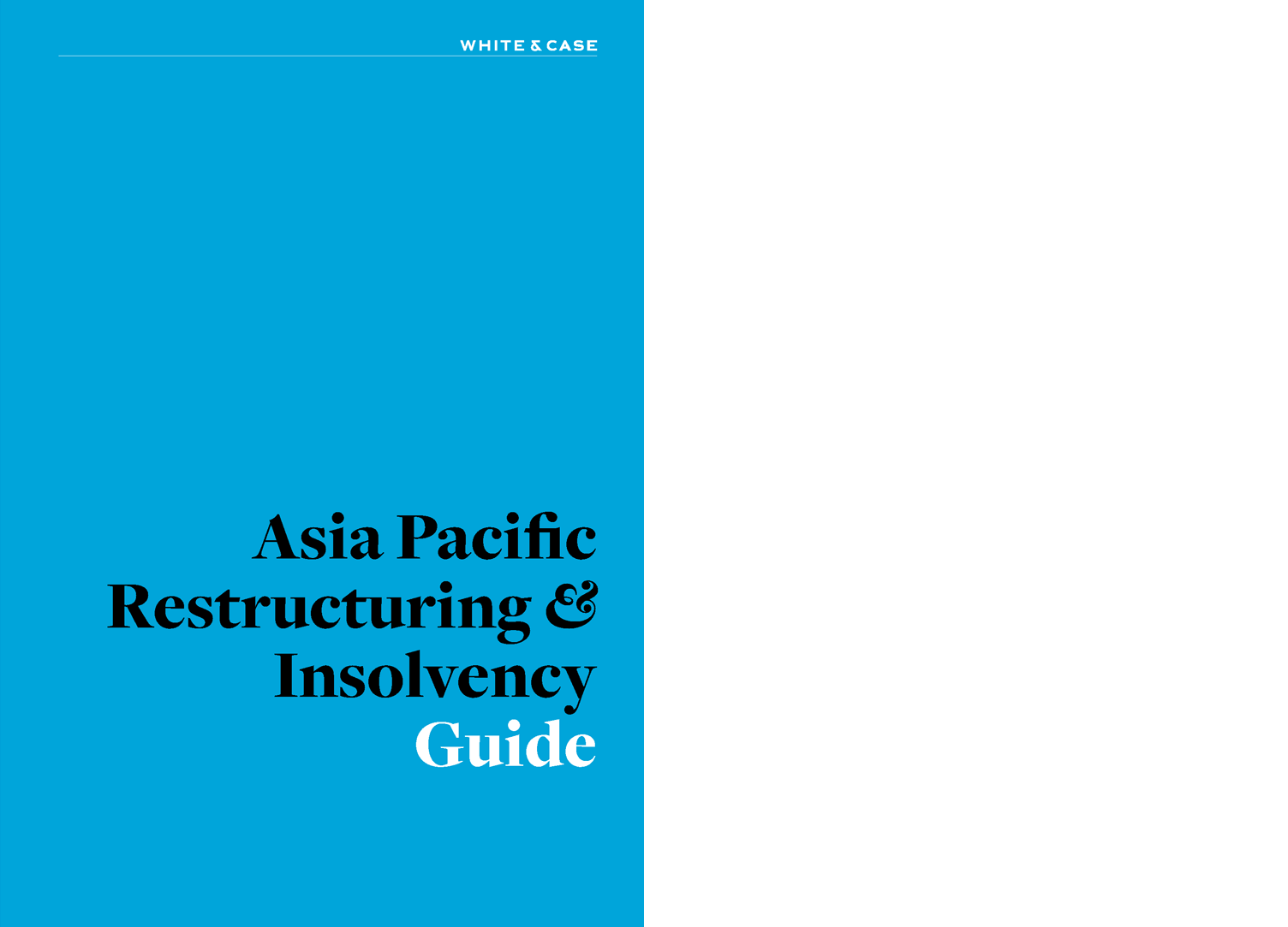 Asia Pacific Restructuring & Insolvency Guide