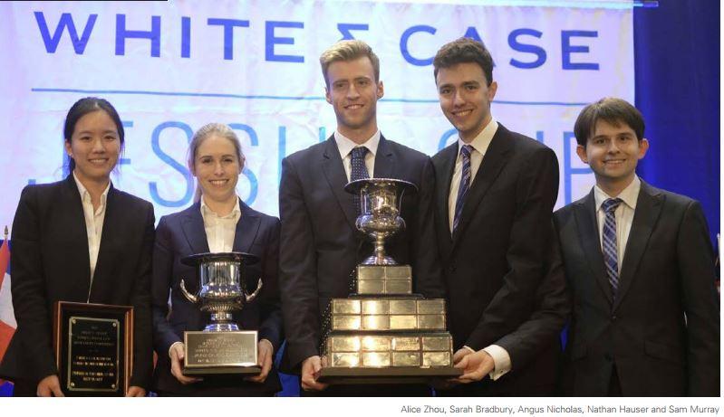 University of Sydney wins White&Case Jessup Cup