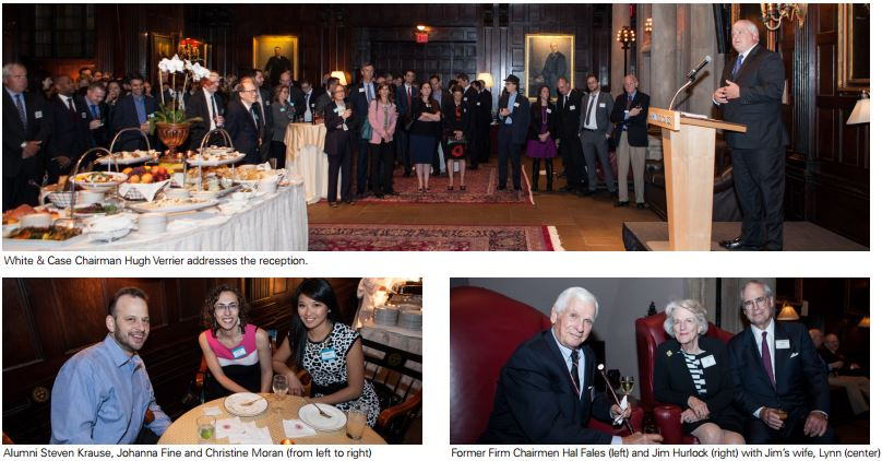 Annual New York Alumni Reception Welcomes 190 Attendees