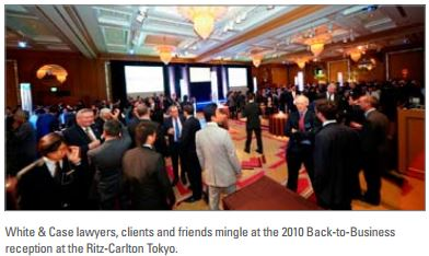 Tokyo Office Hosts 19th Annual Back-to-Business Event for Clients