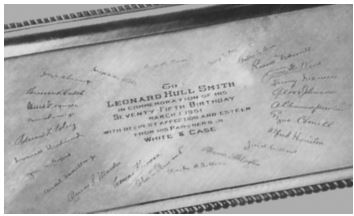 Leonard Hull Silver Tray
