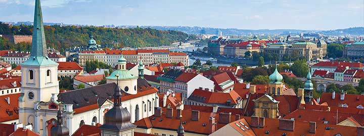Prague's inaugural alumni reception